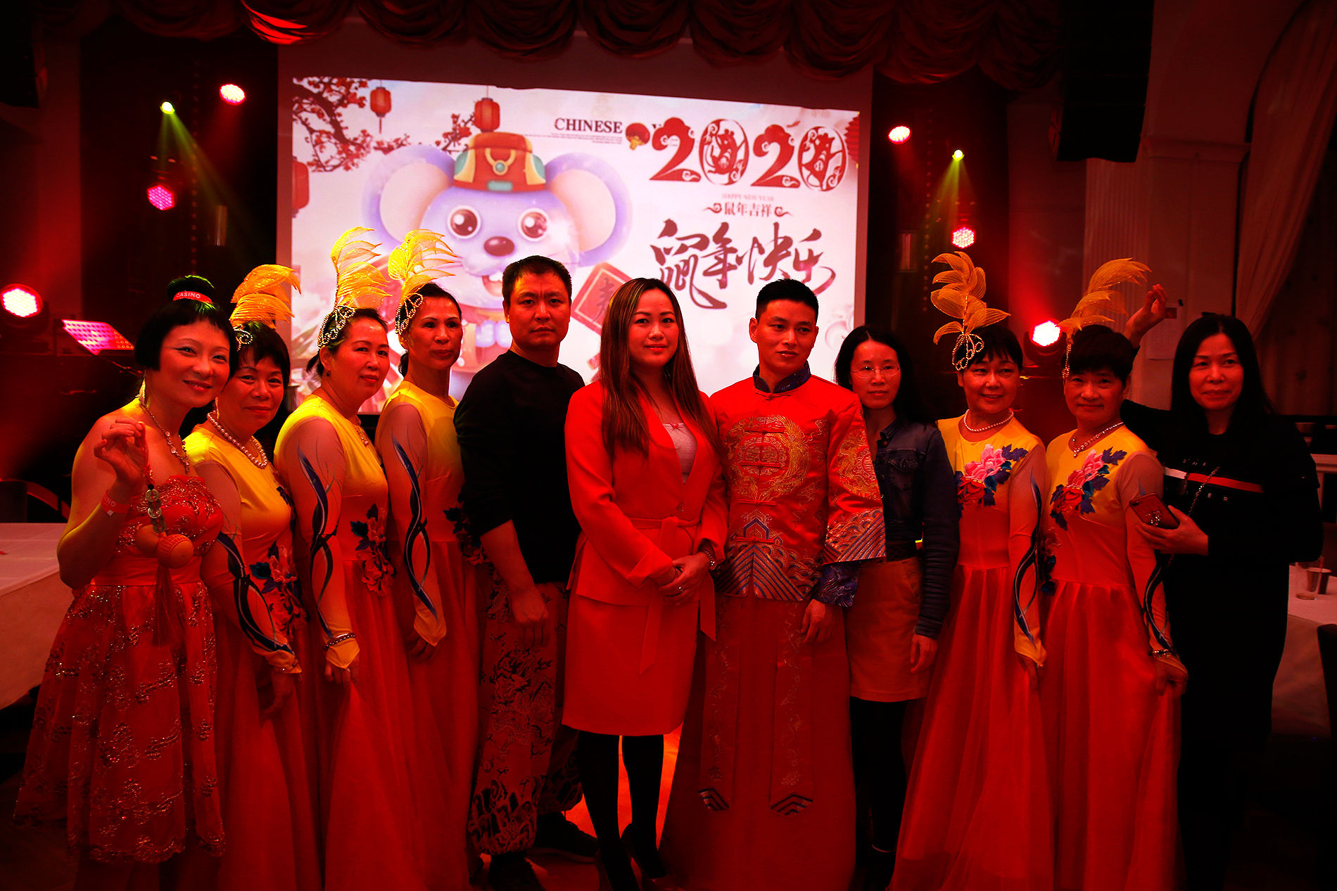 Members of the Finland-China Artists Association posing. Picture: Tony Öhberg for Finland Today