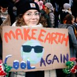 PICTURES: Hundreds of Students Demand Action Against Climate Change at Parliament Building in Helsinki
