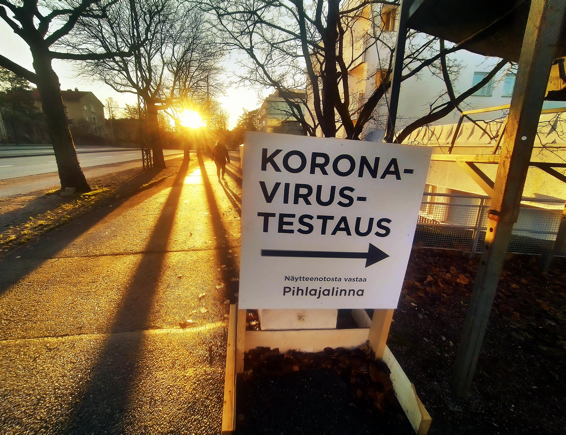 The number of positive coronavirus samples have increased to four percent in the Hospital District of Helsinki and Uusimaa (HUS). Photograph: Tony Öhberg/Finland Today