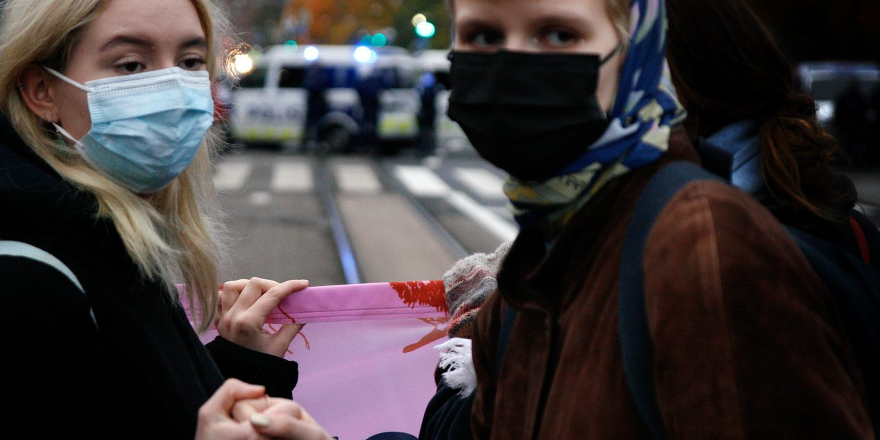GALLERY: Climate Activists Aimed to Stop Traffic in Helsinki Center for 10 Days; Police Catch 141