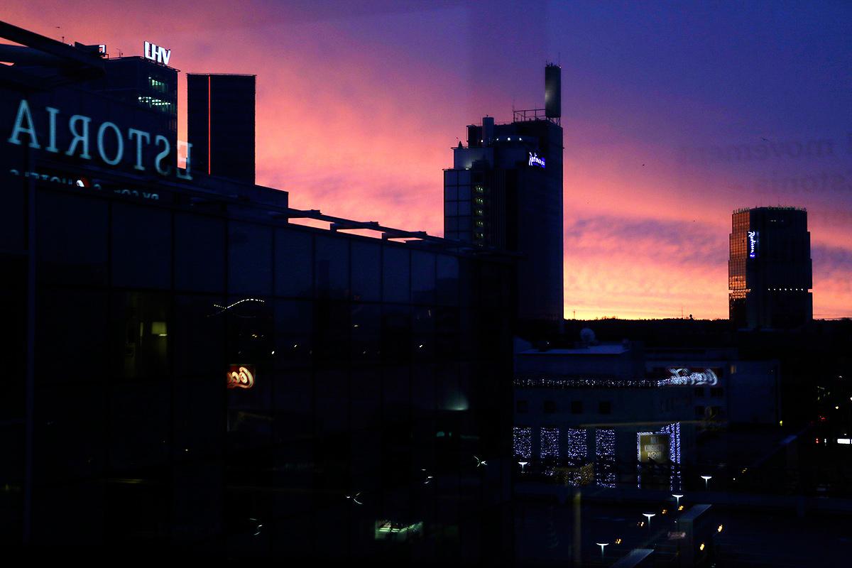A view over the skyline of the Estonian capital, Tallinn. Photograph: Tony Öhberg/Finland Today