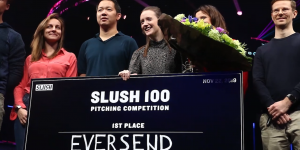 VIDEO: Emma Smith of Eversend, Winner of Slush 100 Start-up Competition: Our Company Started From Se...