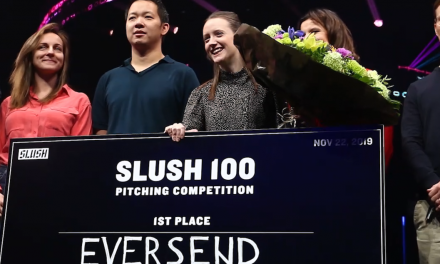 VIDEO: Emma Smith of Eversend, Winner of Slush 100 Start-up Competition: Our Company Started From Sending Money to Grandma