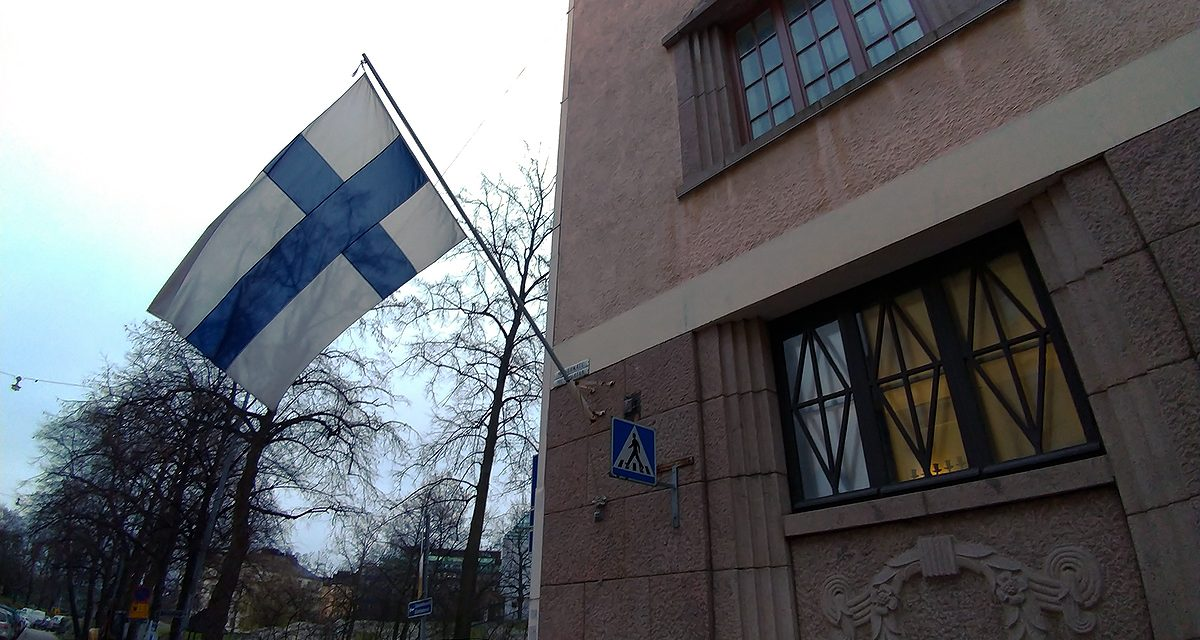 Flags Fly for Finnish Democracy