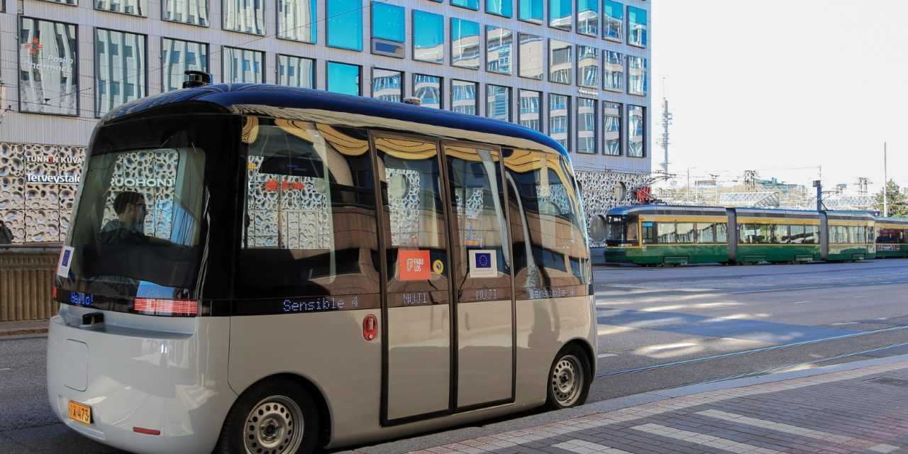 Robot Bus Set to Begin Shuttling Today