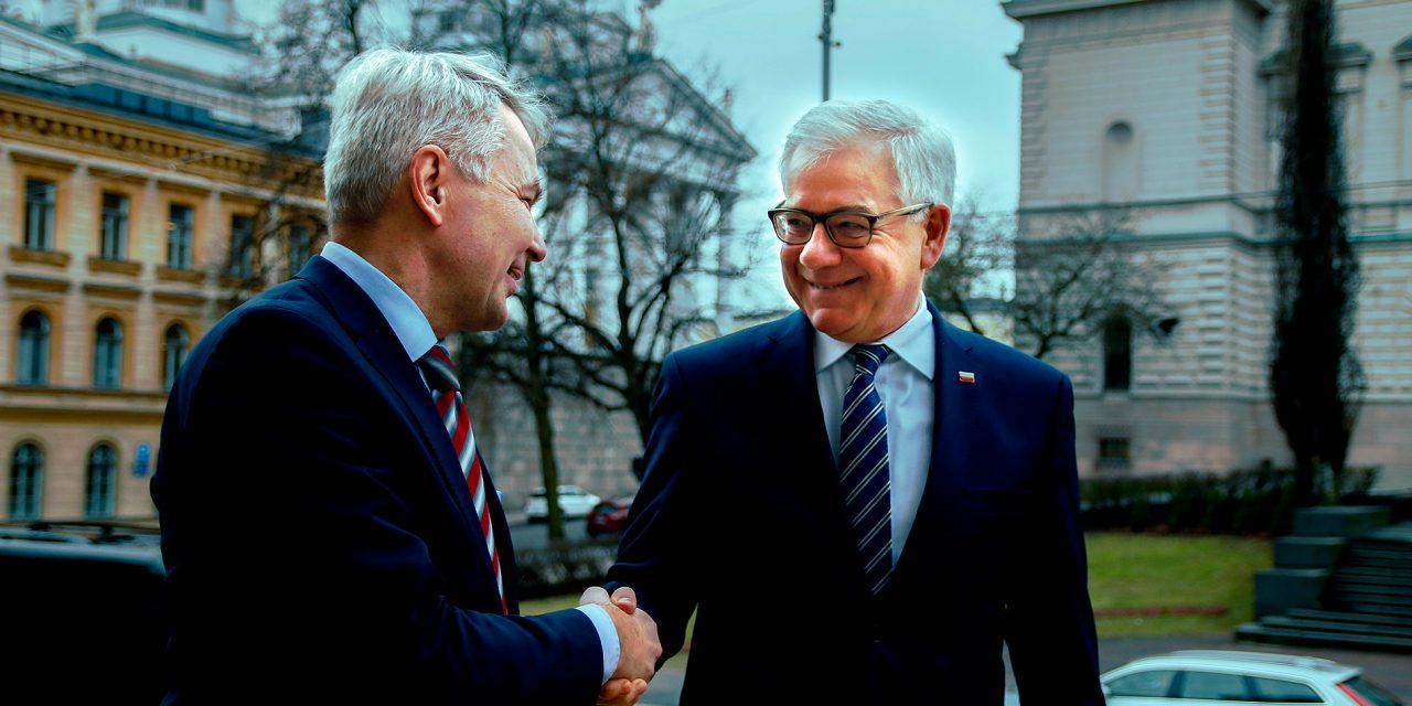 Fruitful Meeting Between Foreign Minister Haavisto and His Polish Counterpart, Czaputowicz
