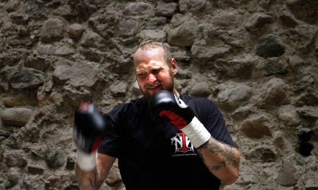 Finnish Heavyweight Boxer Helenius Spars with Former World Champ Wilder; 'Bring it!'