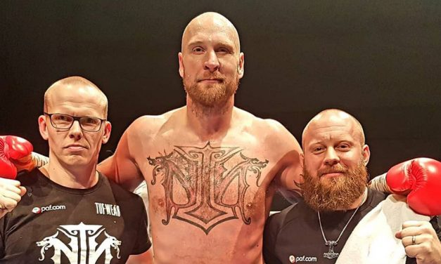 Finnish Heavyweight Boxer Robert Helenius Knocks Down His Brazilian Opponent in the Second Round; Next Fight in the USA