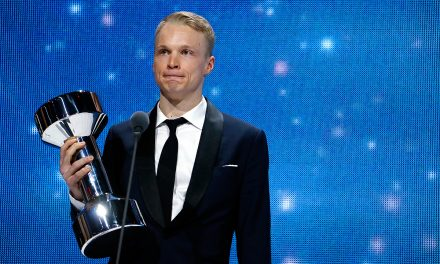 PICTURES: Here's How Iivo Niskanen Celebrates Athlete of the Year Award – On Stage and Off Stage