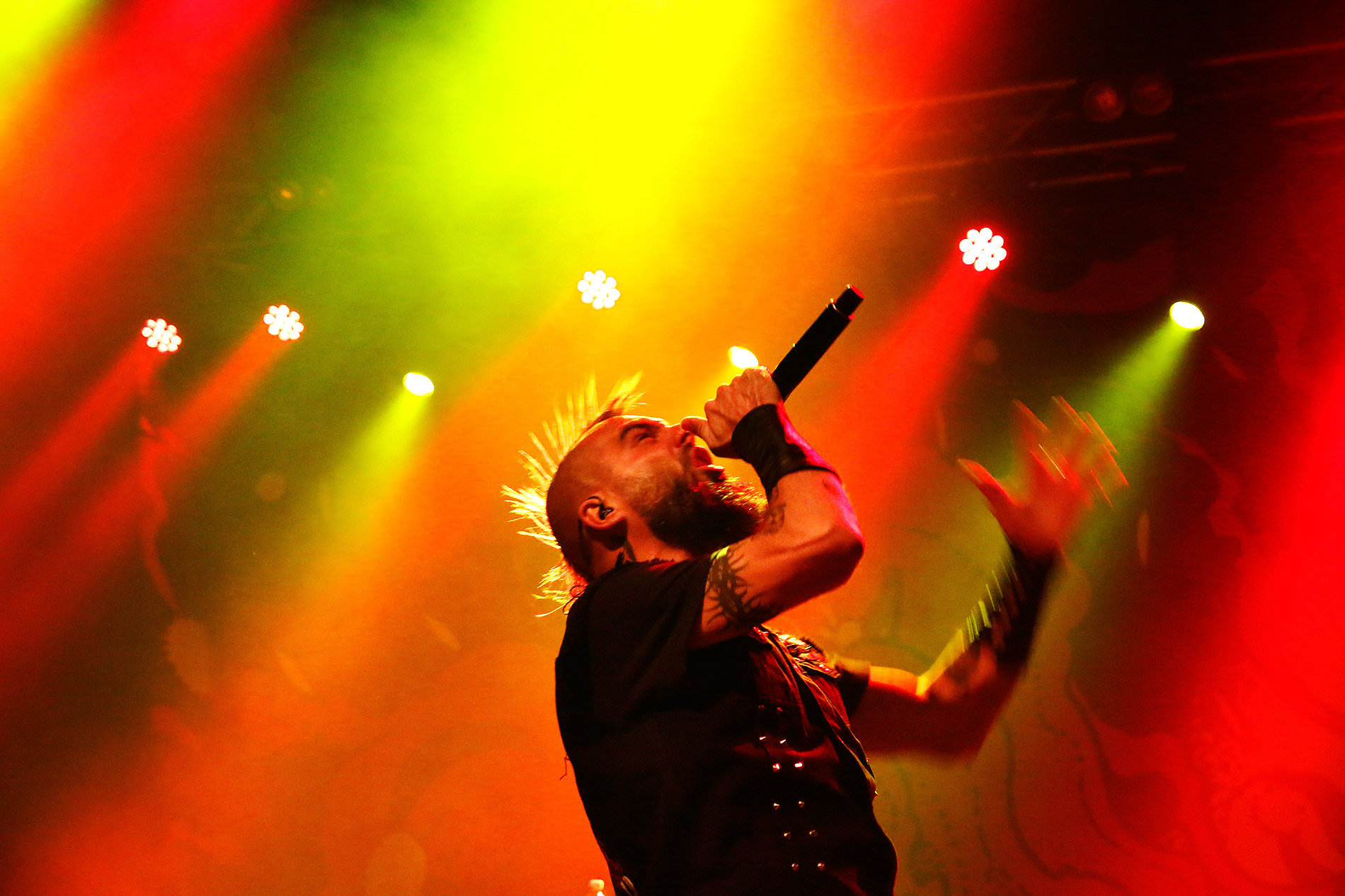 Jesse Leach. Picture: Tony Öhberg for Finland Today