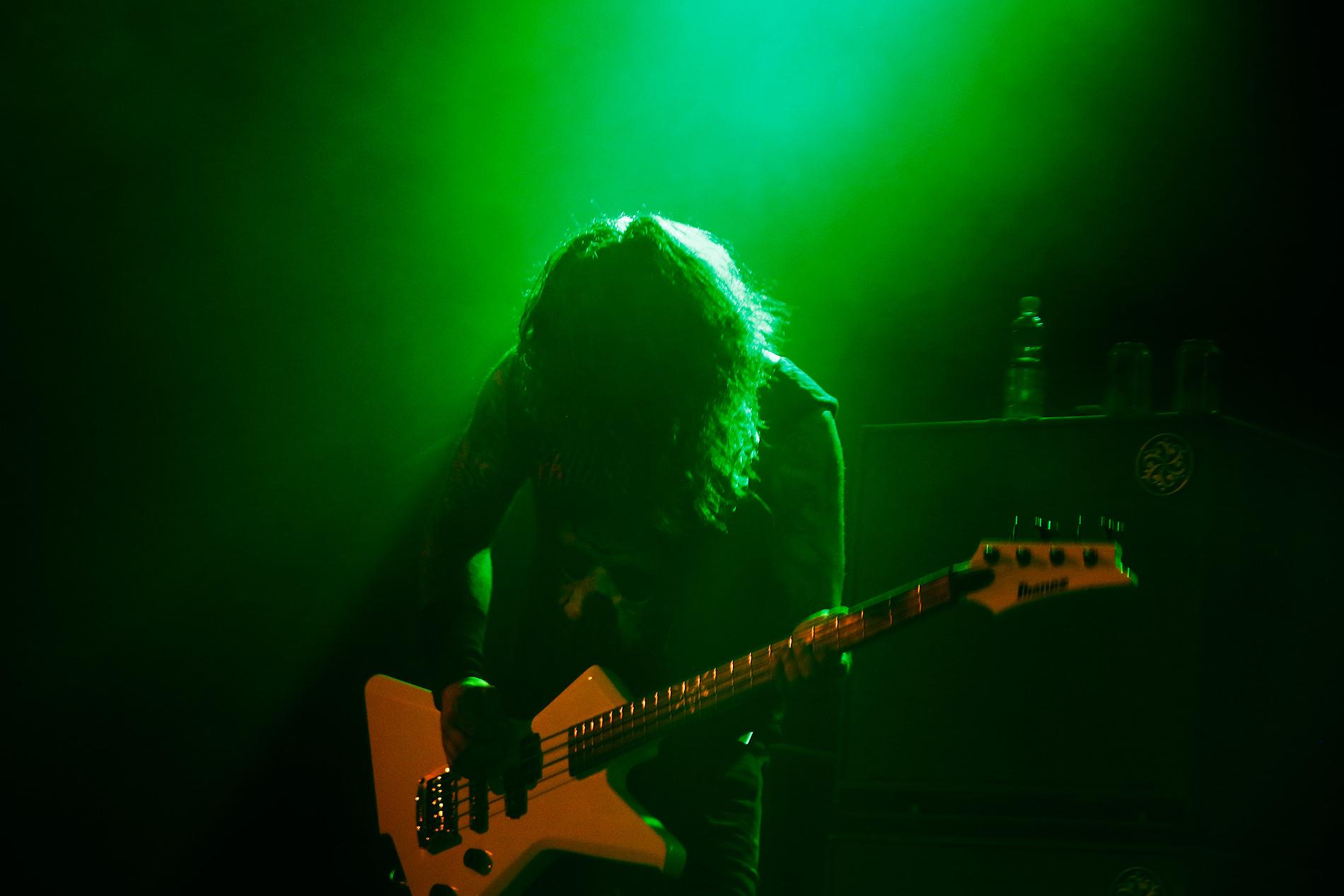 Bassist Michael D'Antonio. Picture: Tony Öhberg for Finland Today