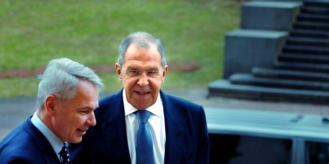 Russian Foreign Minister Lavrov in Helsinki: We Appreciate That Finland Is Not Part of a Military Union