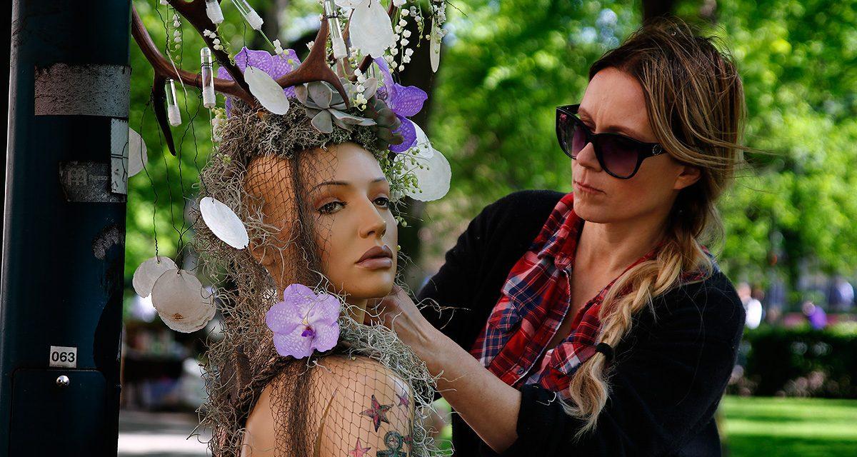 PICTURES: Lovely Helsinki Festival Wraps Light Poles in Flowers