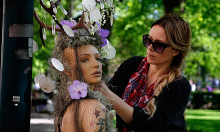 PICTURES: Lovely Helsinki Festival Wraps Light Poles in Flowers