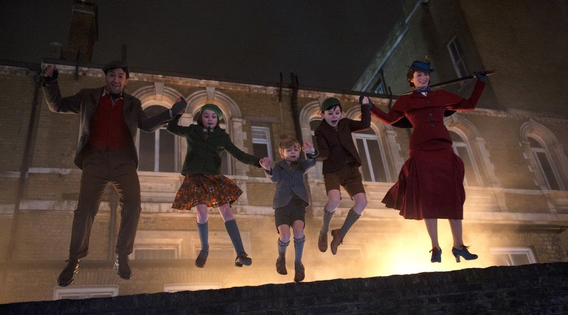 'Mary Poppins Returns' Film Review: The World's Greatest Nanny Returns in a Not-So-Great Sequel