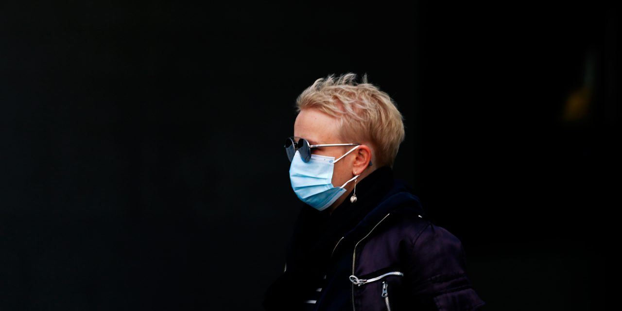 GALLERY: People in Helsinki Cover Themselves in Masks