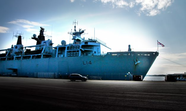 The Public Have a Rare Chance to Visit the British Royal Navy Flagship on Thursday in Helsinki