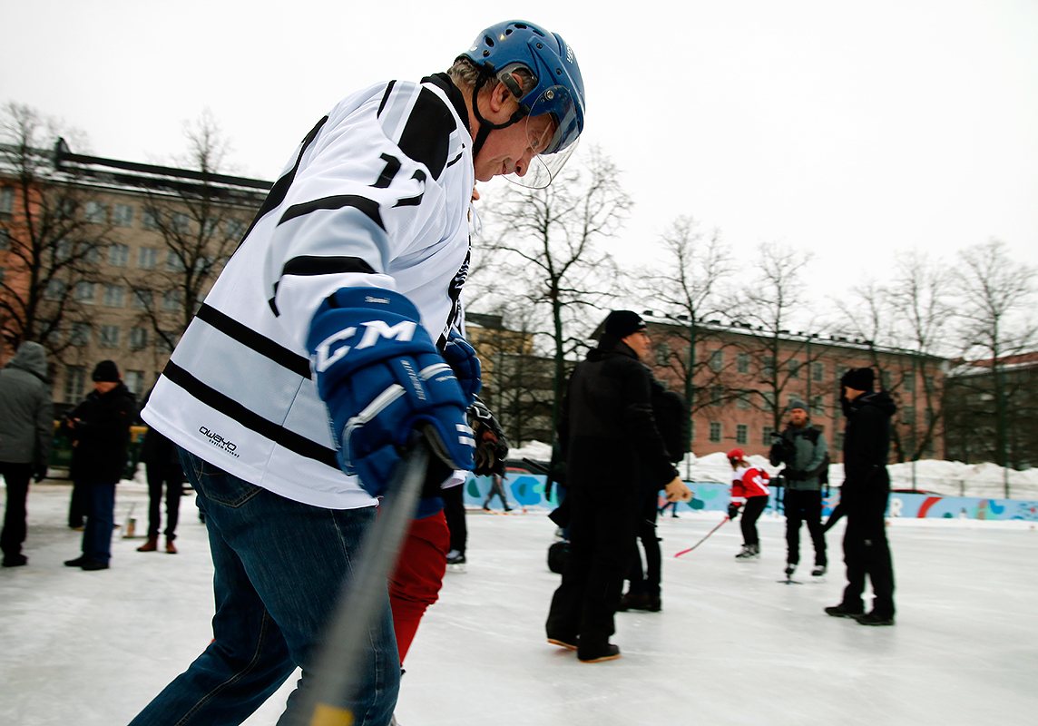 Ready, set, go! Picture: Tony Öhberg for Finland Today