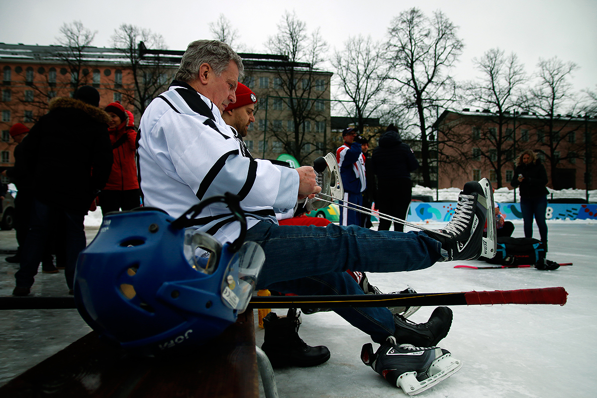 Loose skates, bad game. Picture: Tony Öhberg for Finland Today