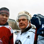 Finnish President Fights Global Warming in His Last Hockey Game Before Hip Surgery