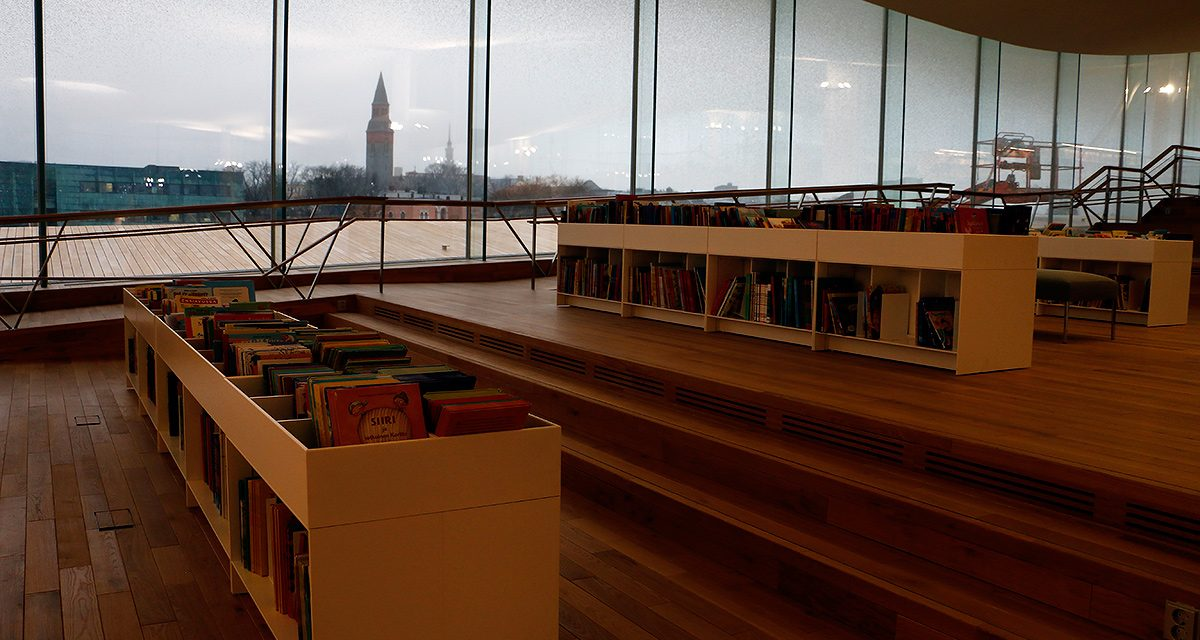 A Visit to Oodi Central Library in Helsinki is an Architectual Experience For a Lifetime