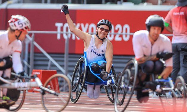 Finnish Wheelchair Racer Toni Piispanen Wins Gold at Tokyo 2020 Paralympic Games