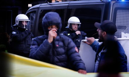 VIDEO: Finnish Kurds and Their Supporters Clash With the Police in Helsinki Downtown