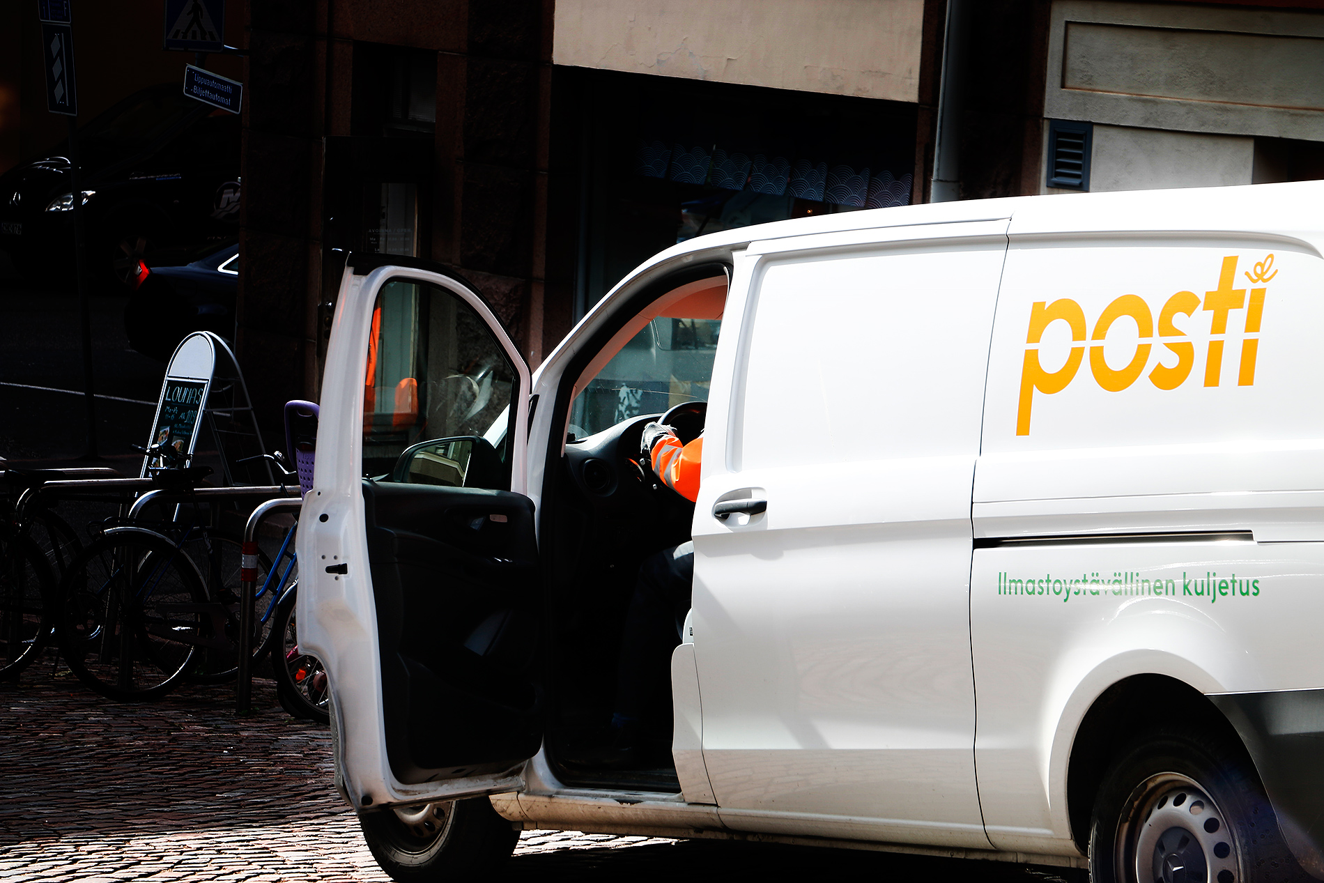 The Finnish postal service, Posti Group Oyj, aims to reduce about 130 employees between September and October. Photograph: Tony Öhberg/Finland Today