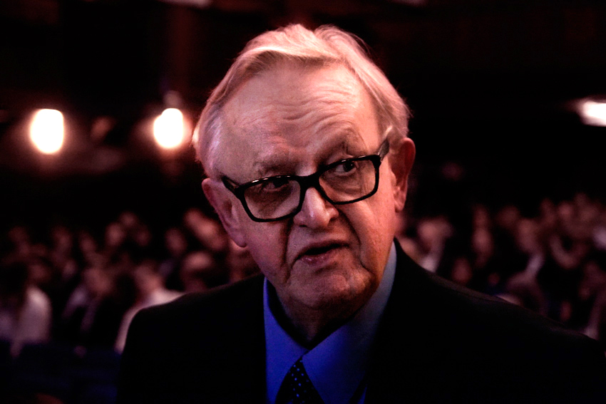 Former Finnish President Martti Ahtisaari Tests Positive For Coronavirus