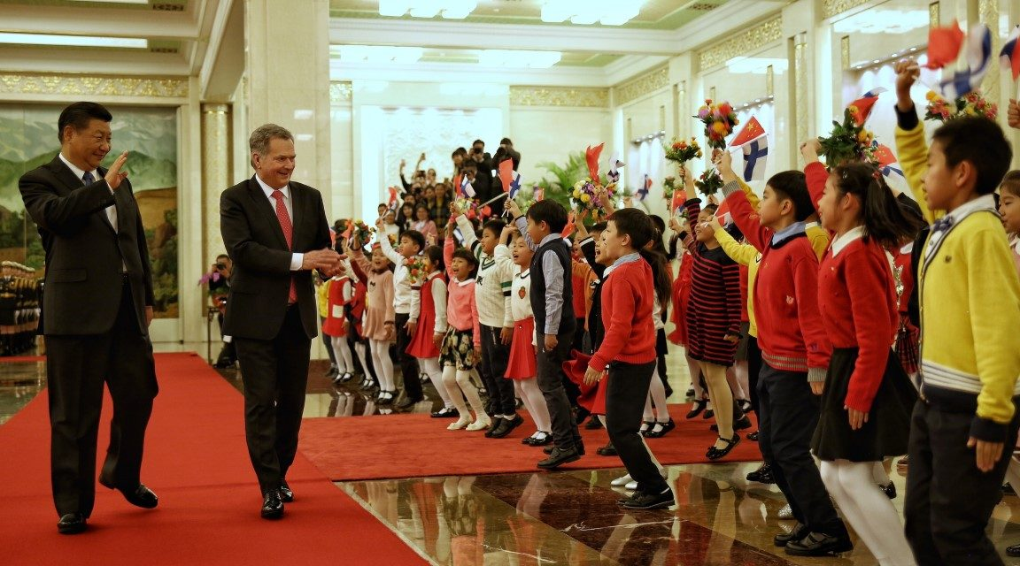 President Niinistö: Finland Is Happy to Support China's Introduction of Winter Sports to Hundreds of Millions