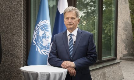 President Niinistö in the UN's 75th Anniversary Speech: We Need UN More Than Ever