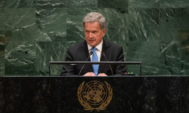 President Sauli Niinistö at the UN General Assembly in New York: 'We Are no Longer Able to Avoid the Climate Crisis Completely'