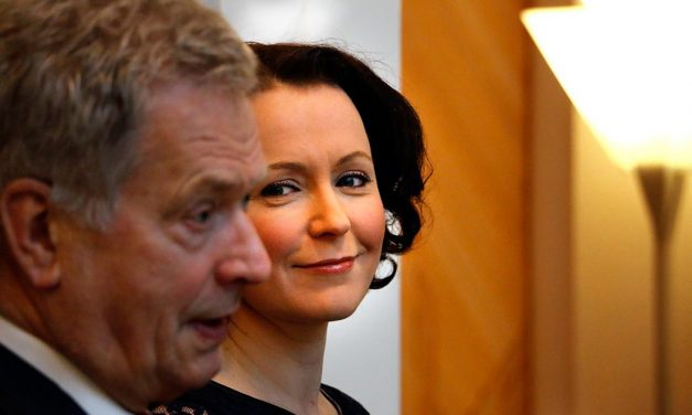 Finland's First Lady Jenni Haukio Receives an Award For Her Work in Animal Welfare