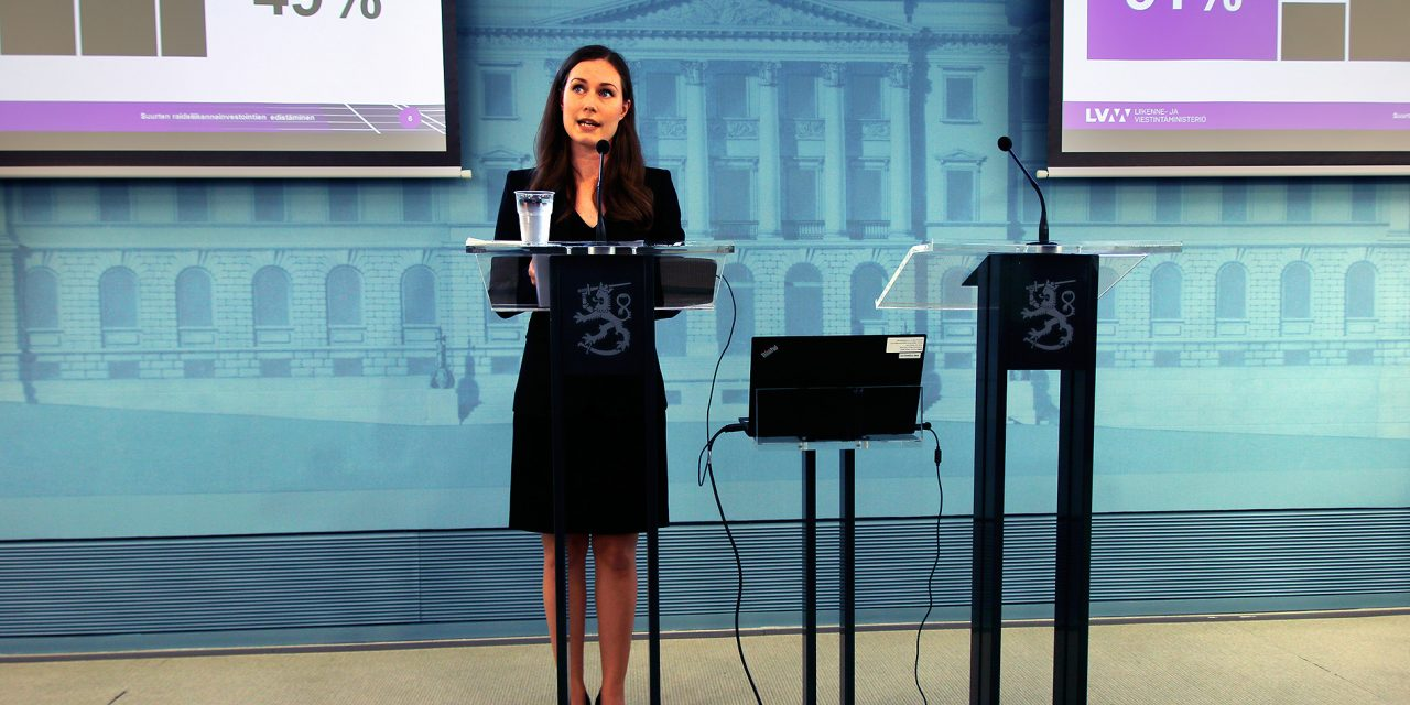 Prime Minister Sanna Marin: Six-Hour Workday is a Vision For the Future But Not During This Governmental Term