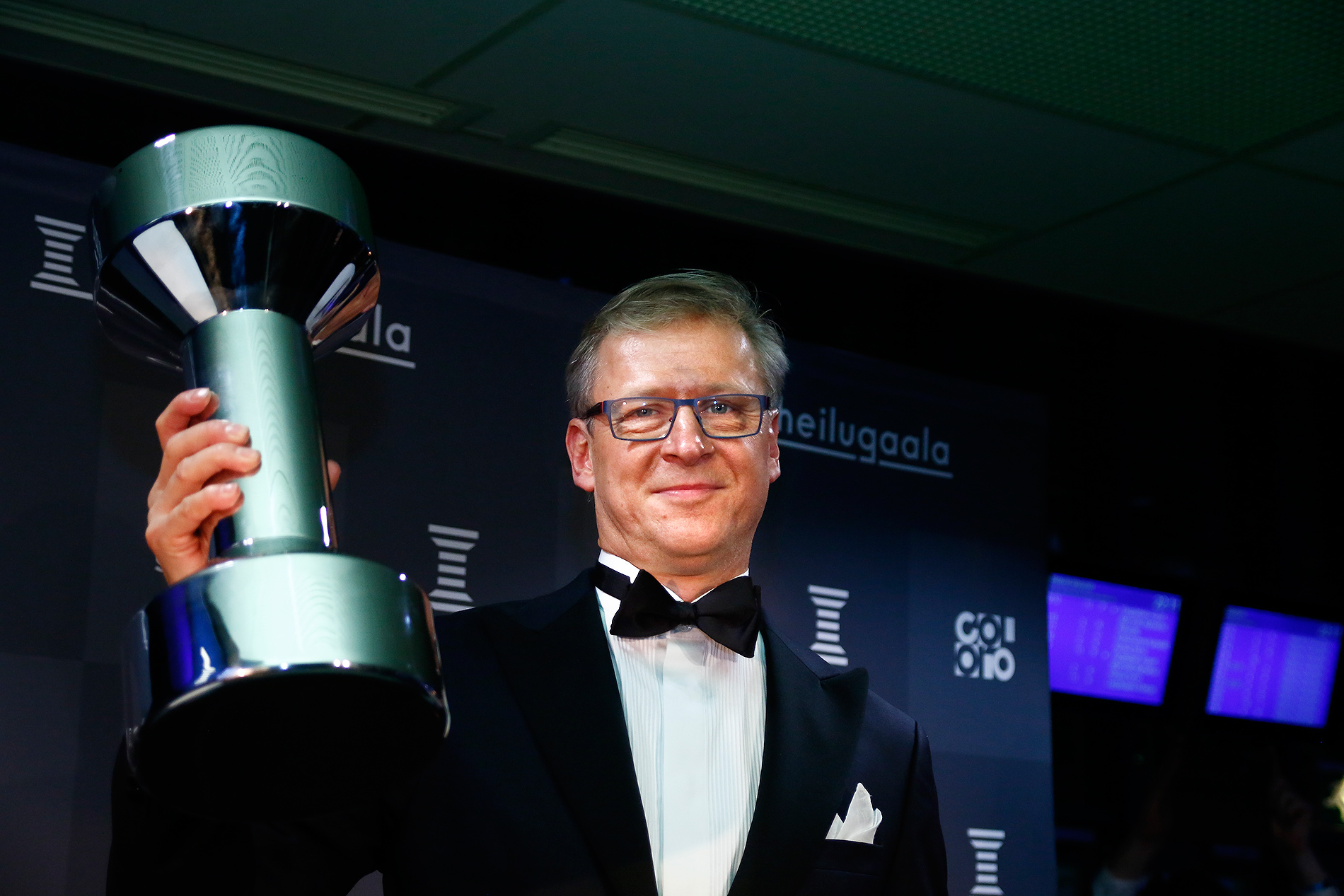 Football coach Markku Kanerva took the Finland national football team, Eagle Owls, to the Euro 2020. He received the Coach of the Year award. Picture: Tony Öhberg for Finland Today