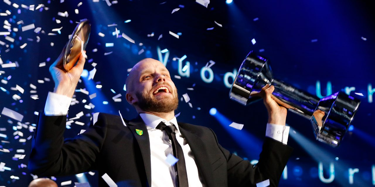 Football Striker Teemu Pukki Wins the Athlete of the Year Prize