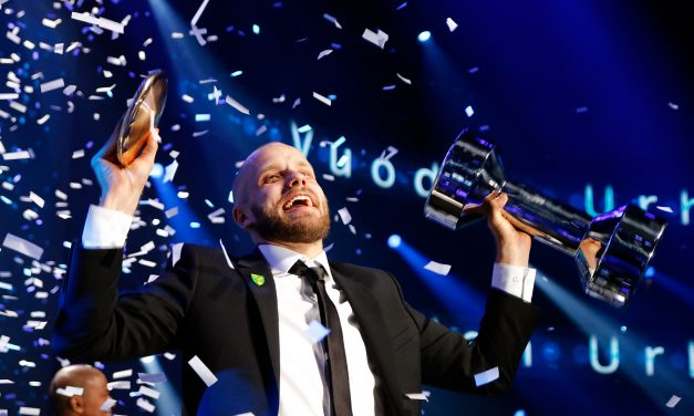 Football Striker Teemu Pukki Wins the Athlete of the Year Prize