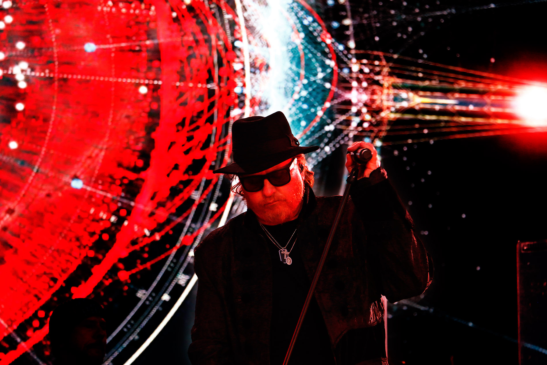 Joseph Williams was the lead vocalist of Toto during the mid-to-late 1980s. Since 2010, Williams has again been singing the lead. Picture: Tony Öhberg for Finland Today