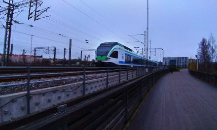 Disturbances in Train Traffic Between Helsinki and Pasila