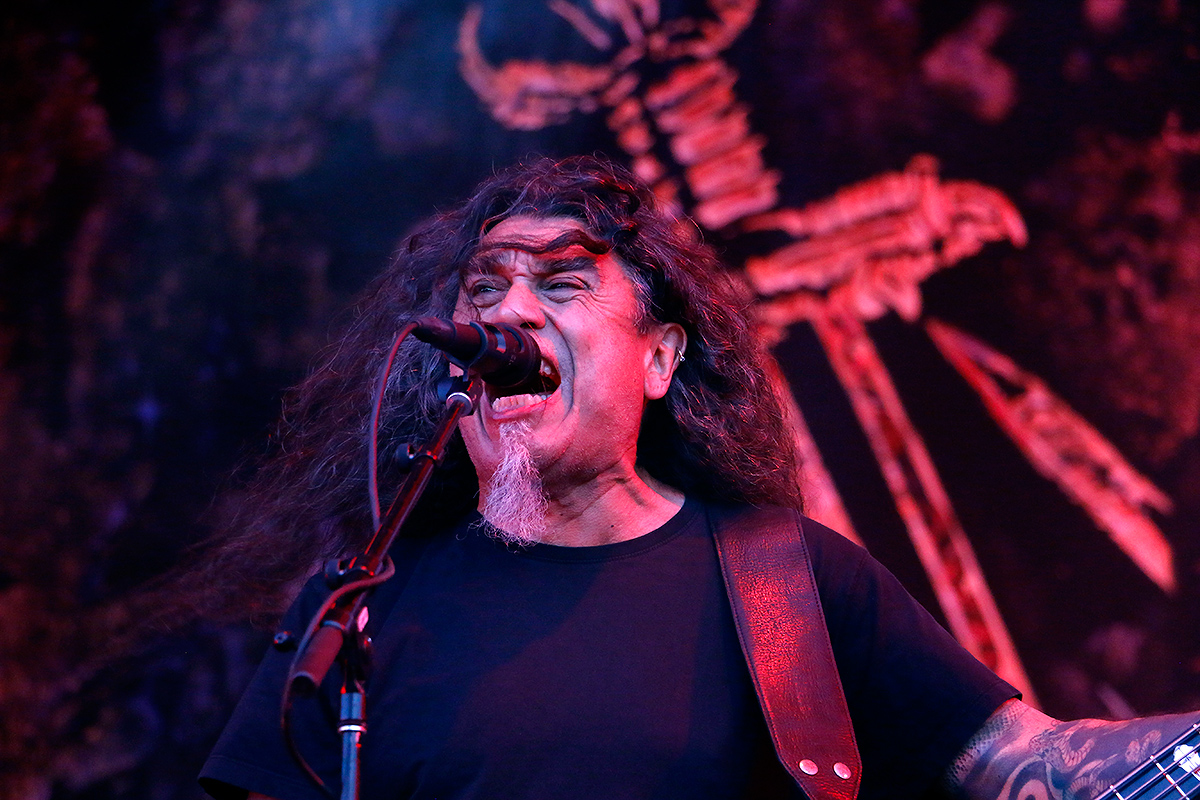 Tom Araya, vocalist, bassist, Slayer. Tuska 2019, June 29, Helsinki. Picture: Tony Öhberg for Finland Today