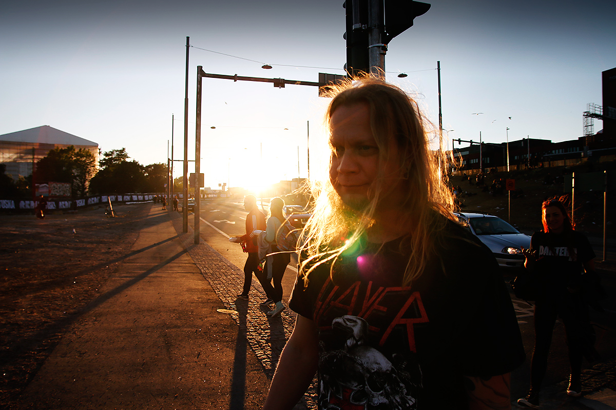 Arriving. Tuska 2019, Helsinki. Picture: Tony Öhberg for Finland Today