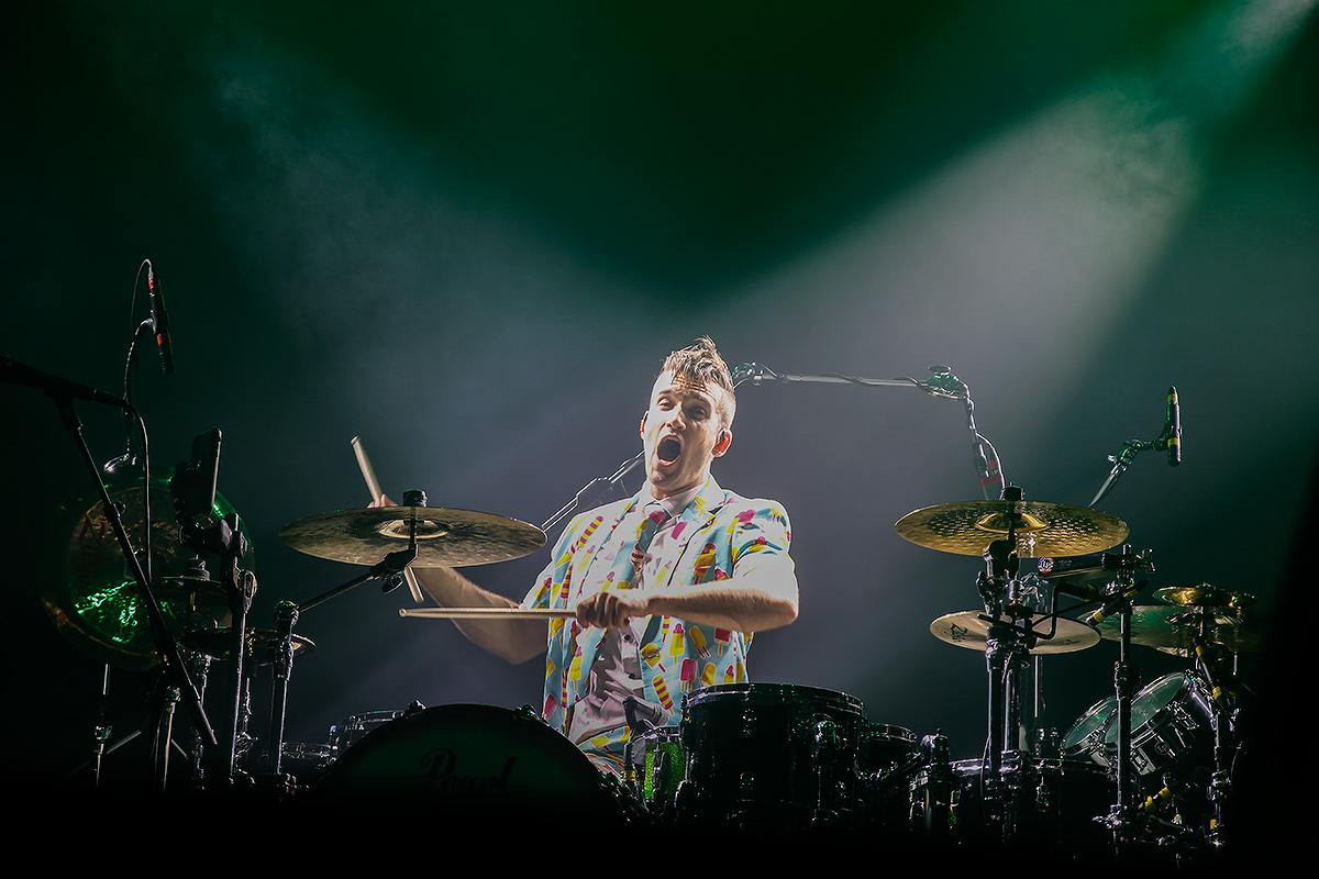 Arejay Hale, drummer, Halestorm. Tuska 2019, June 30, Helsinki. Picture: Tony Öhberg for Finland Today
