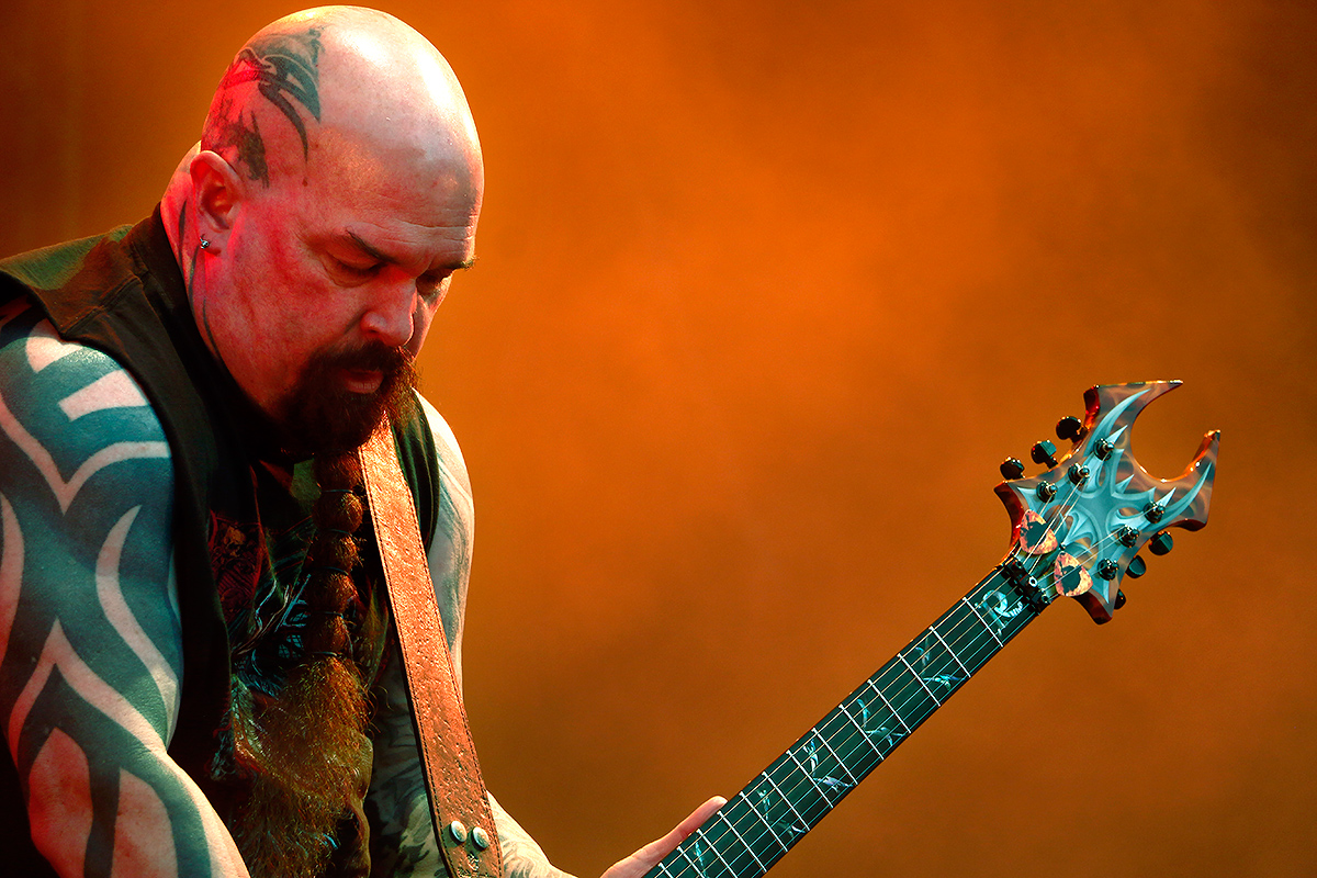 Kerry King, guitarist, Slayer. Tuska 2019, June 29, Helsinki. Picture: Tony Öhberg for Finland Today