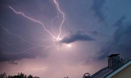 Heavy Thunderstorms Took Place on Tuesday; Lightning Ignites House in Flames in Southeastern Finland; Power Sockets Fly Off the Wall in South