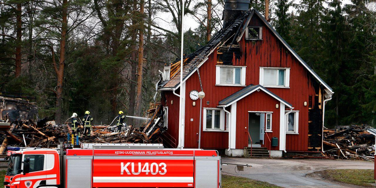 Two Suspects Imprisoned in Relation to School Arsons in Nurmijärvi