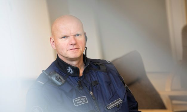 Vesa Jauhiainen is the Police Officer of the Year. He is the Face of the Suburbs in Turku.
