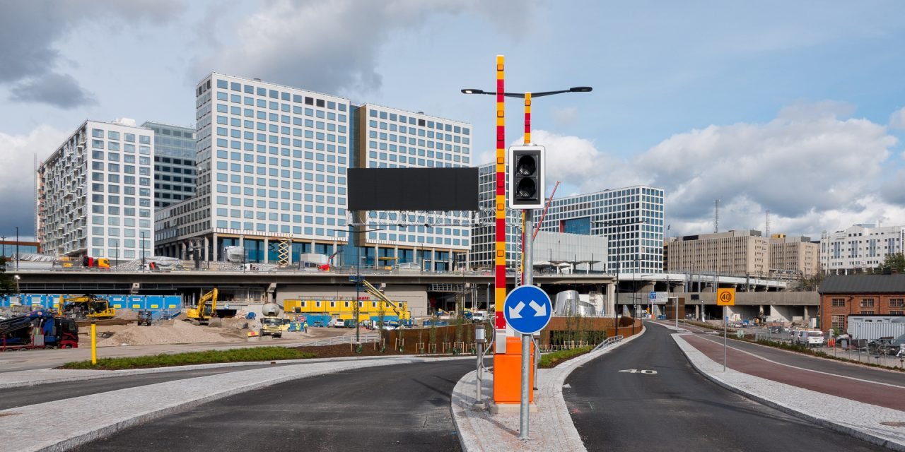 New Tunnel for Vehicle Traffic Opens in Pasila on Tuesday; Expected to Lower Traffic in Pasila Significantly