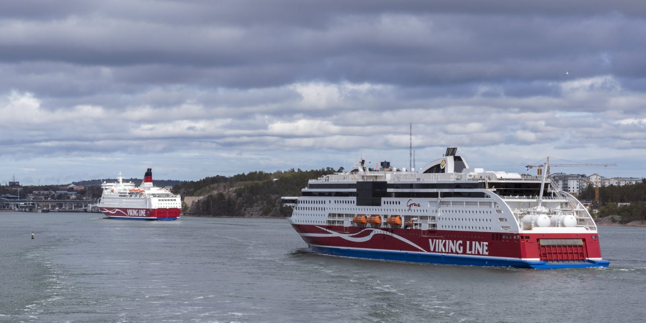 Viking Grace Has Ground Contact in Åland Islands; 331 Passengers on Board