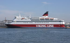 Viking Line Cruise Ferries Stay in Port Because of Posti Strike